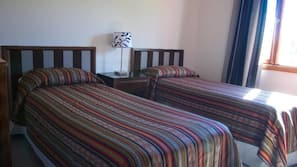 1 bedroom, free cots/infant beds, free WiFi