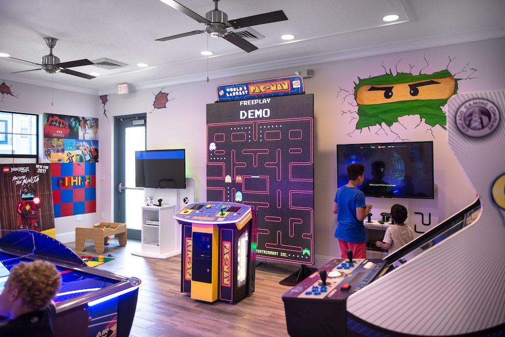 Game Room, Balmoral Resort Florida