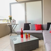 T2 NEW Clim Large Terrace SEA View Directly ON THE Beach Swimming Pool INT