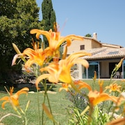 Villa Provencale With Large Swimming Pool and Exceptional View on the Mont Ventoux