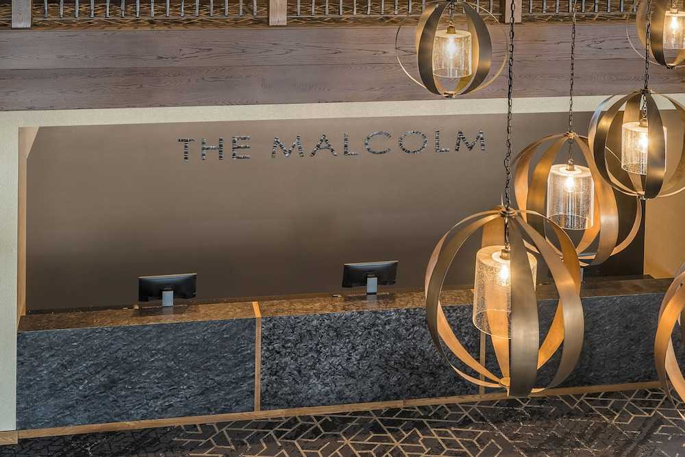 Reception, The Malcolm Hotel by CLIQUE