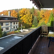 Lovingly Furnished Apartment in a Quiet Location With Pool, Sauna and Wi-fi