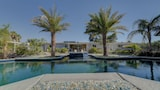 Sanctuary Pond and Pool - Las Vegas Hotels
