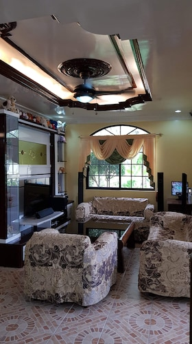 Interior, House With Nice Garden And Big Private Pool For Rent