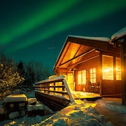 Golden Circle Cabin With NEW Hot Tub, Free Wifi and Northern Lights
