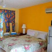 Beach, Sunset, Snorkeling, Wi-fi, Negril Jamaica Studio Apartment Condo