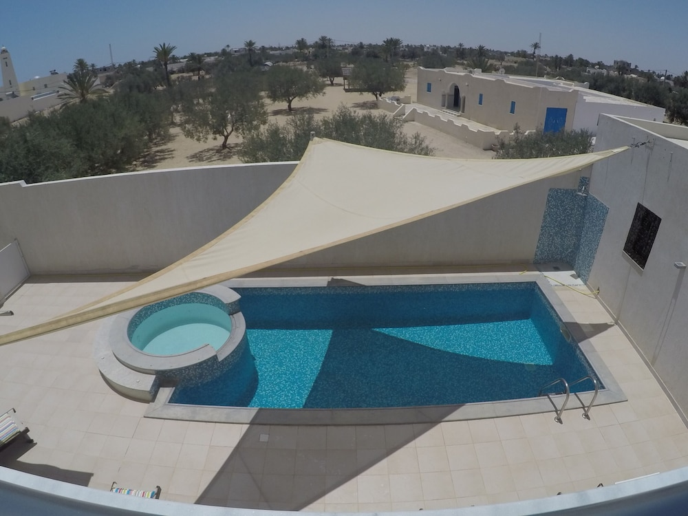 F3 Floor With Terrace On Swimming Pool In Residence Djerba Securised