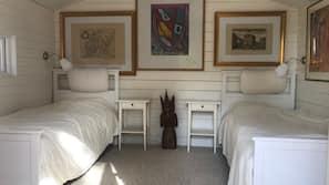 5 slaapkamers, een strijkplank/strijkijzer, wifi, beddengoed