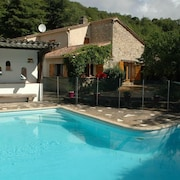 Stone House With Private Pool in the Languedoc National Park Near Octon
