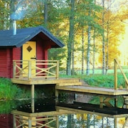 Renovated House, Sauna, Pond, Lake, Boat, Fishing, Bicycles, Chopped Wood