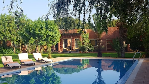 Luxury Villa With Private Pool Route de Lalla Takerkous