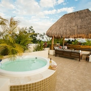 Tulum 2BR Aldea Zama Penthouse Condo With Private Rooftop Patio And Spa
