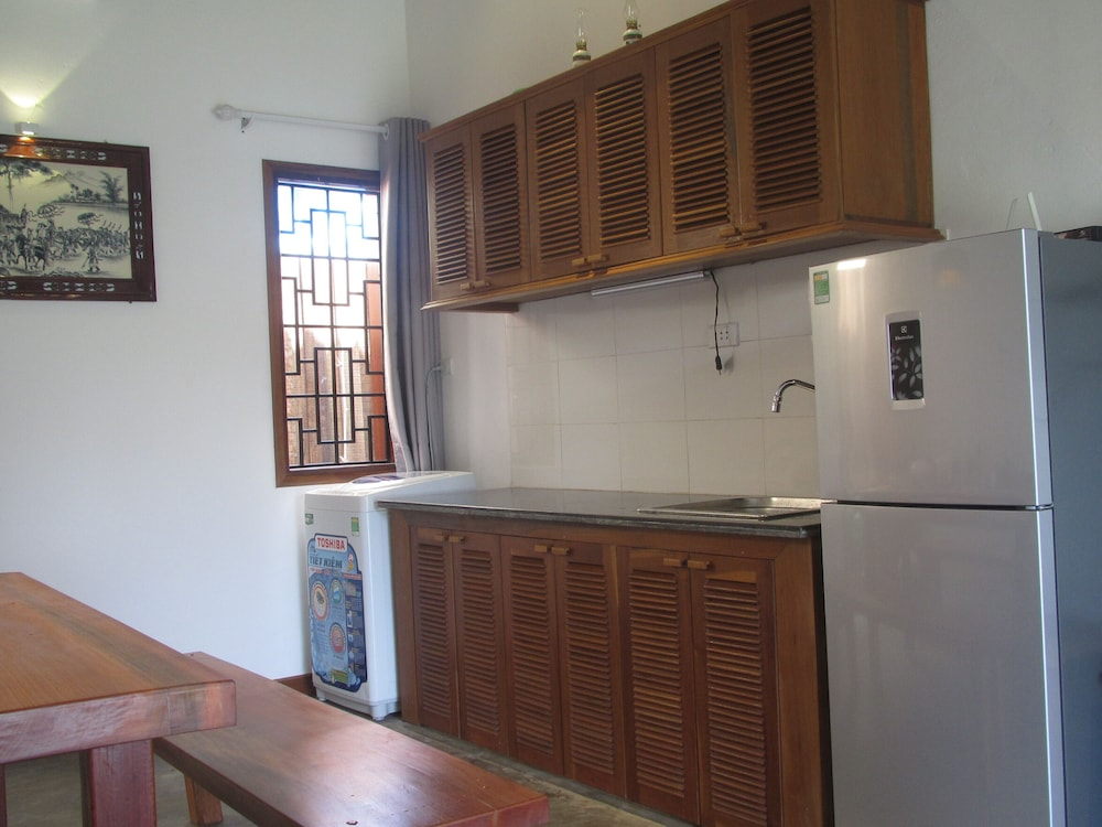 Private Kitchen, Kay's Cottage on AN Bang Beach