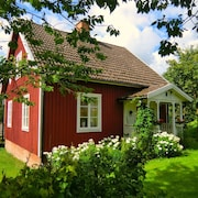 Charming Cabin, Sauna, Pond, Lake, Boat, Fishing, Bicycles, Wood, Child fr