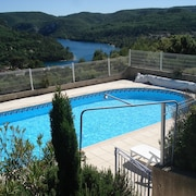 Attached Provencal Villa With Private Pool Panoramic Views Overlooking