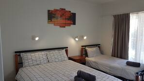 Premium bedding, free WiFi, bed sheets