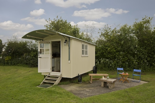 Shepherds Hut for two Located on the East Yorkshire Coast