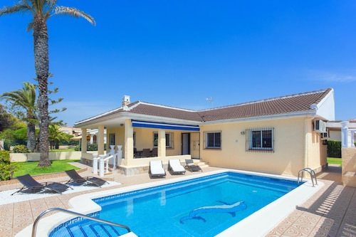 Villa of Dream With Private Swimming Pool, With 50m. From the Beach