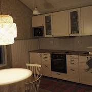 Keittiö huoneessa
