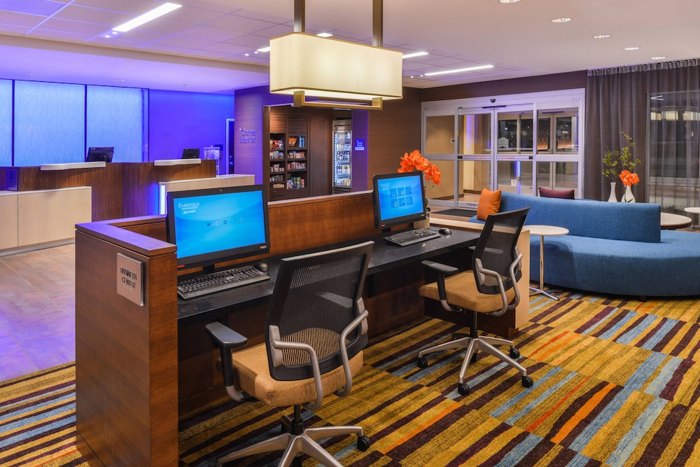 Business Center, Fairfield Inn & Suites by Marriott Coralville