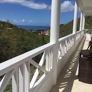 Two Bedroom Apartment Overlooking the Caribbean Seaside Village of Mero