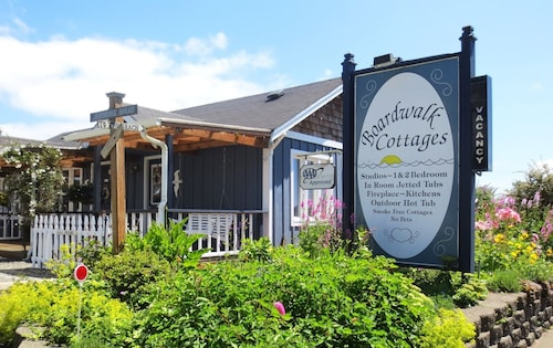 Check Expedia for Availability of Boardwalk Cottages