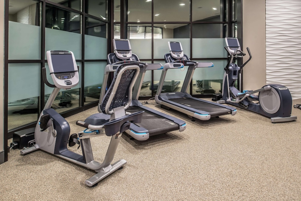 Fitness Facility, Doubletree by Hilton Lafayette East, IN