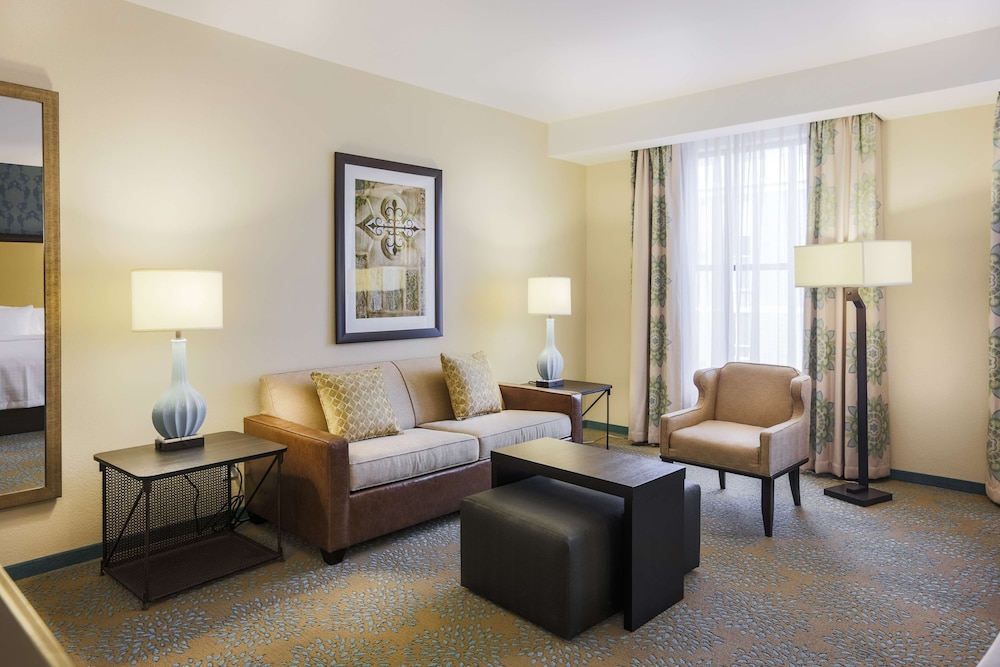 Living Area, Homewood Suites by Hilton Charleston Historic District