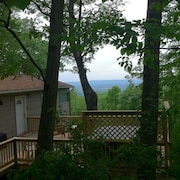 Rainbow View Cabin - Blue Ridge Mtn Retreat With Shenandoah Valley View & Hottub