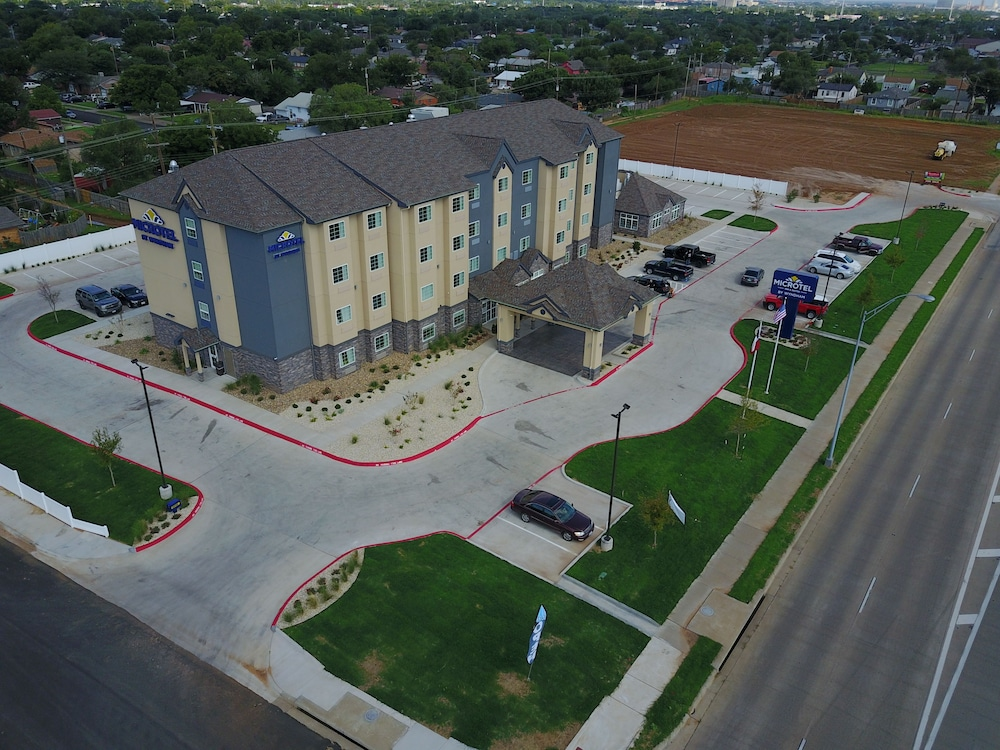 Aerial View, Microtel Inn and Suites by Wyndham Lubbock