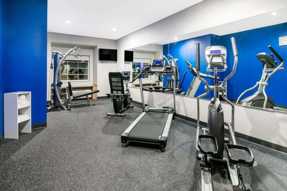 Fitness Facility, Microtel Inn and Suites by Wyndham Lubbock