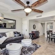 Prime Scottsdale Location! Garage, 2 Beds, 2.5 Baths. 2 Pools + Spa