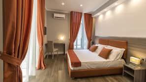 In-room safe, desk, cots/infant beds, free WiFi