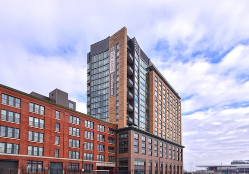 Great Place to stay Global Luxury Suites at Seaport near Boston