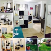 65m2 City-apartment Very Good Area With 180m2 Garden & Sofas And Bbq