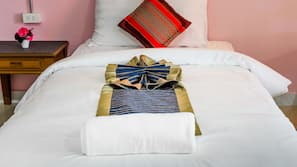 In-room safe, blackout drapes, rollaway beds, free WiFi
