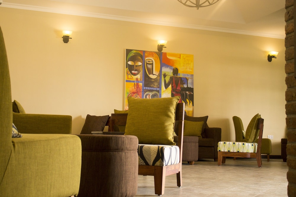 Lobby Sitting Area, Airport Planet Lodge at Kilimanjaro Airport