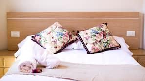 Hochwertige Bettwaren, Zimmersafe, kostenlose Babybetten