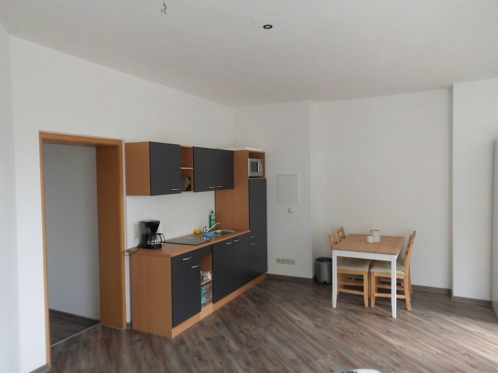 Private Kitchen, Central and Newly Renovated Studio in Lutherstadt Wittenberg