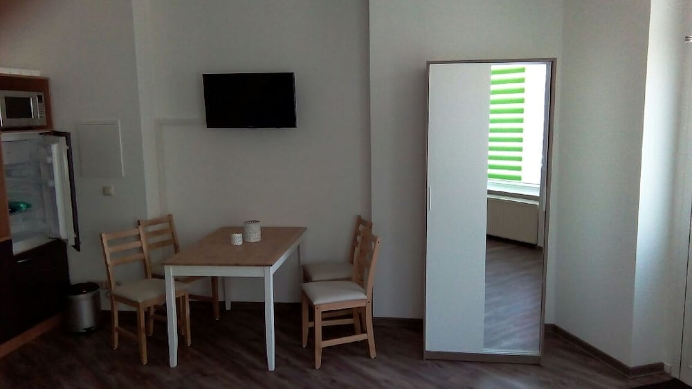 Living Room, Central and Newly Renovated Studio in Lutherstadt Wittenberg