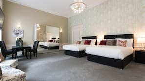 Zimmersafe, Bügeleisen/Bügelbrett, kostenloses WLAN, Bettwäsche