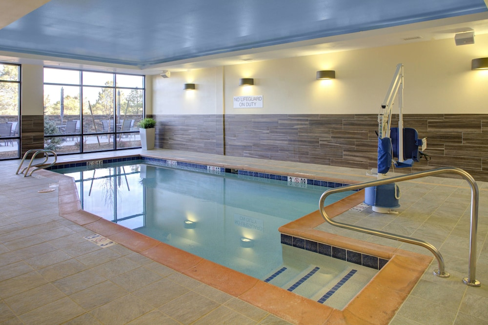 Indoor Pool, Fairfield Inn & Suites by Marriott Flagstaff Northeast