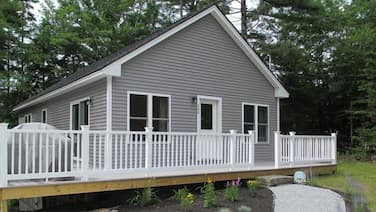 Whiteleys Wharf Boothbay by RedAwning