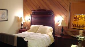 1 間臥室、熨斗/熨衫板、床單