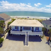 Almost Heaven Oceanfront D Stay ON Beach! Pet Friendly Free Wifi