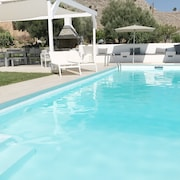 Big Villa Nikos Luxury at Lindos - Piscina Senza Cloro! Family & Friends