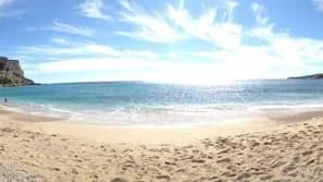 Beach nearby, 2 beach bars