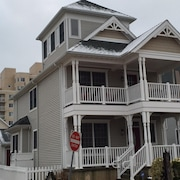 Luxury Home, Beach Block! 2nd House From Spectacular Inlet Beach and Views!!!