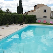 Promo August-seven - Beautiful Spacious Villa With Large Pool Near Avignon