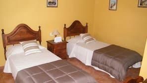 1 soveværelse, sengetøj